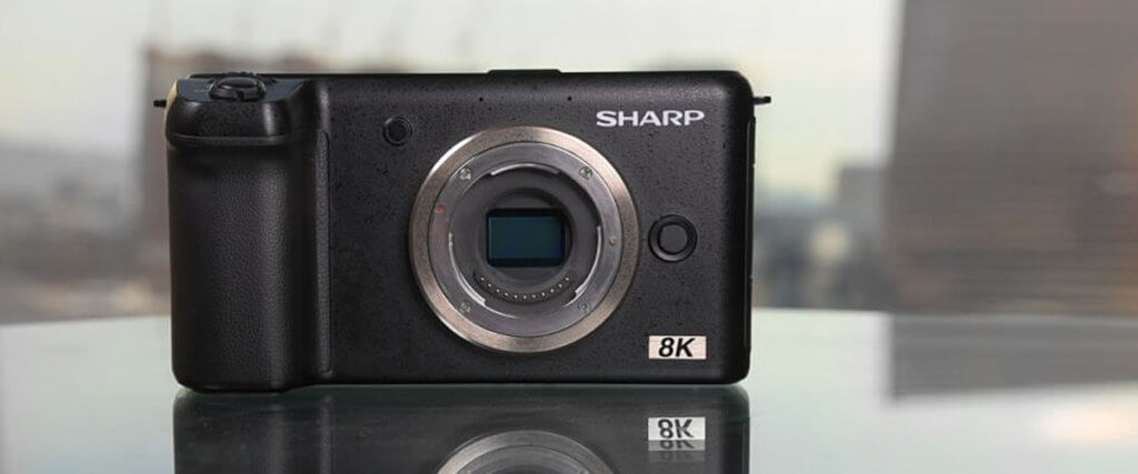 Sharp 8K Video Camera image-3