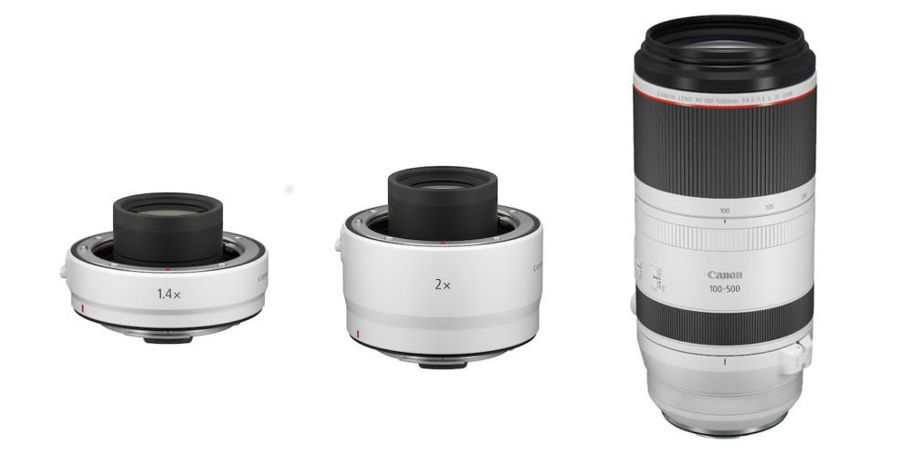 Canon new RF Lenses 2020 Image