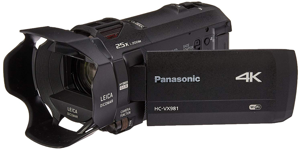 Panasonic VX981 Camcorder Image