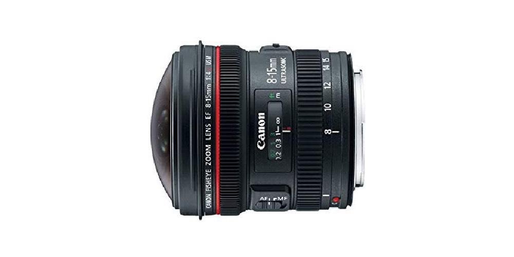Canon EF 8-15mm F/4L Fisheye USM Image