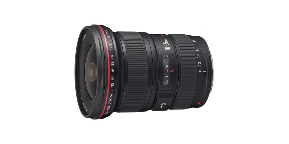 Canon EF 16-35mm f/2.8L II USM Autofocus Lens Image