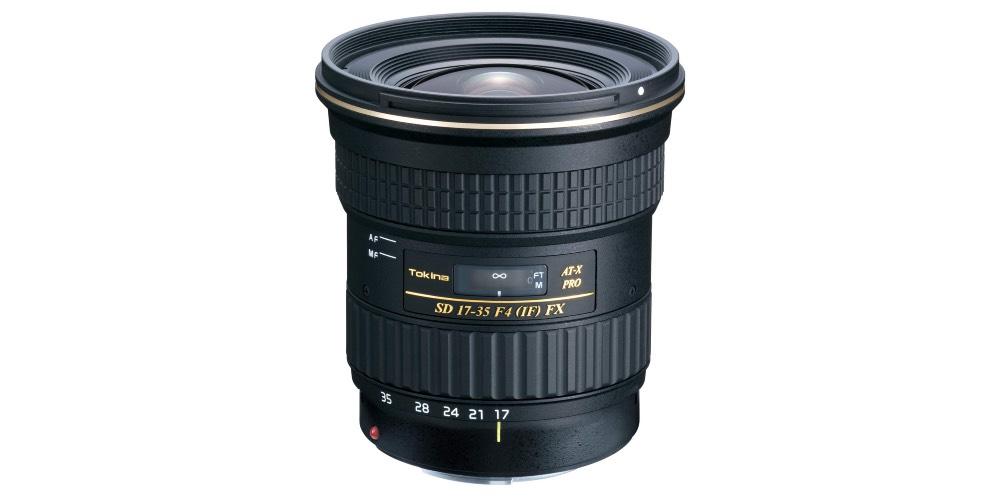 Tokina 17-35mm f/4 AT-X PRO FX Lens Image
