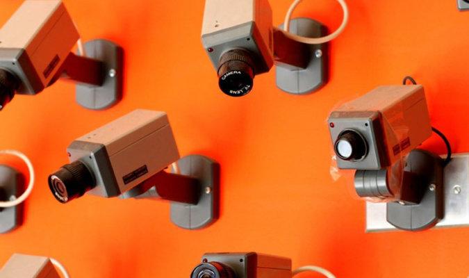 Fake Security Cameras Image
