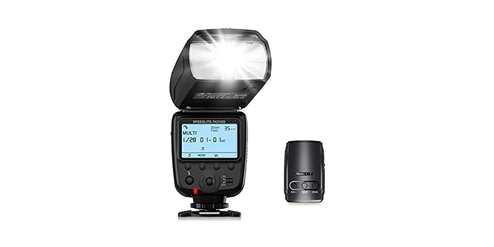 Powerextra LCD Flash Speedlite 2.4G Wireless Trigger Transmitter Kit Image