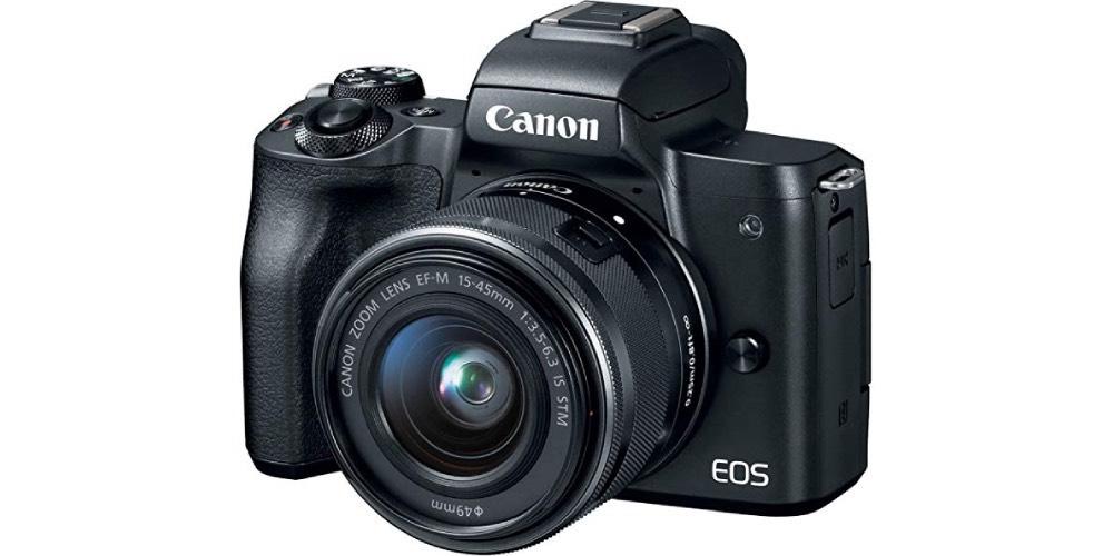 Canon EOS M50 Mirrorless Camera Image