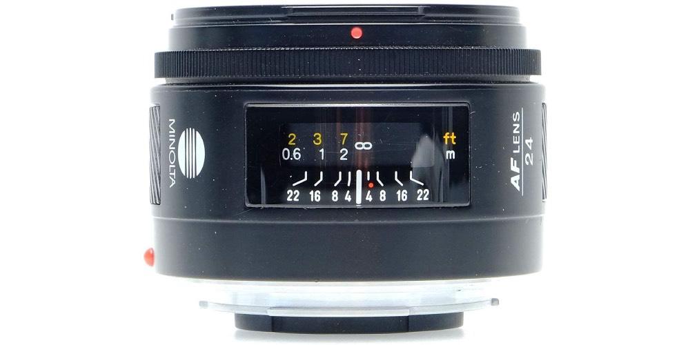 MINOLTA AF 24mm F2.8 Image
