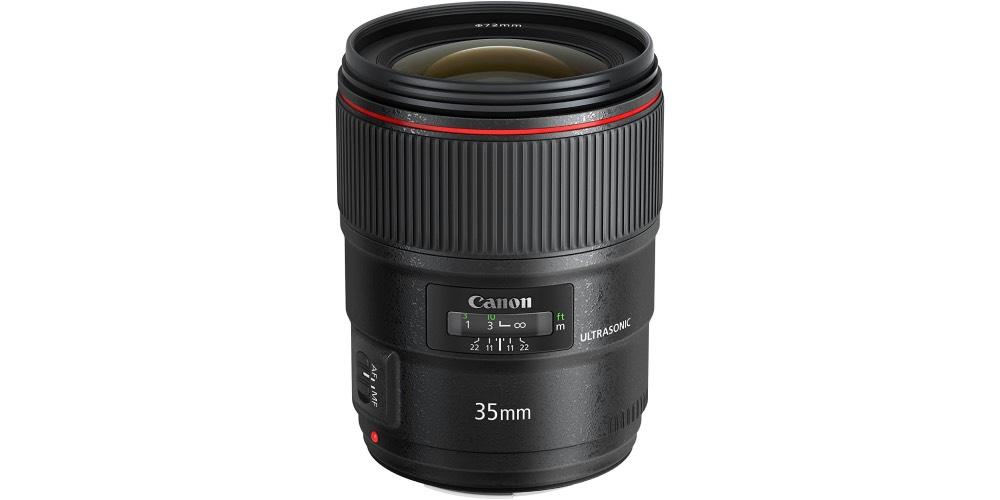Canon EF 35mm f/1.4L II USM Lens Image