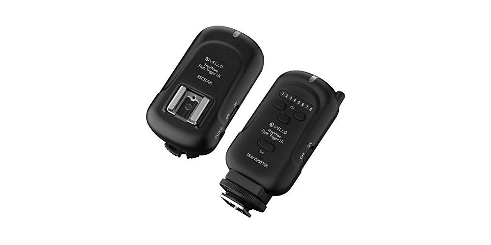 Vello FreeWave Wireless Flash Trigger LR and Receiver Kit Image