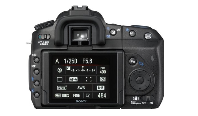 Sony a350 Image 3