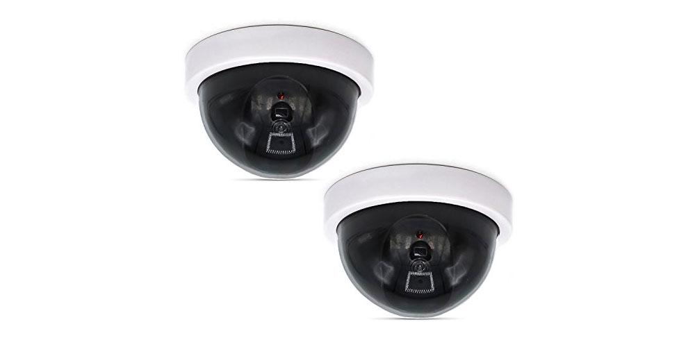 WALI Dummy Fake Security Cameras-image