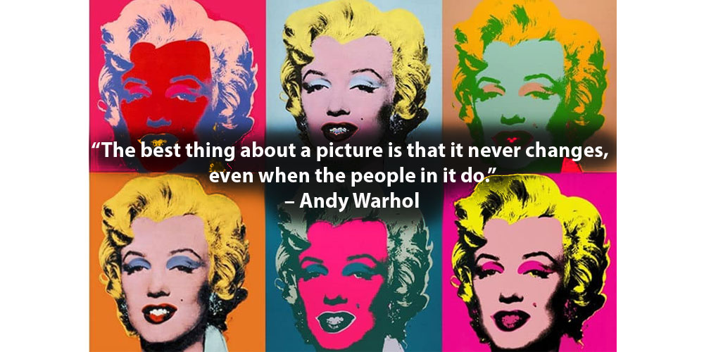 Andy Warhol Photography Quote Image