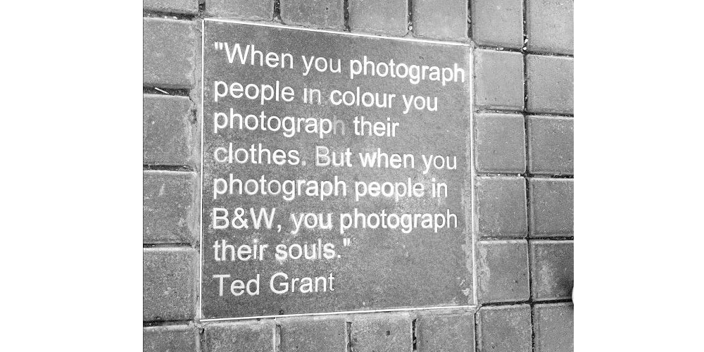 Ted Grant Photography Quote Image