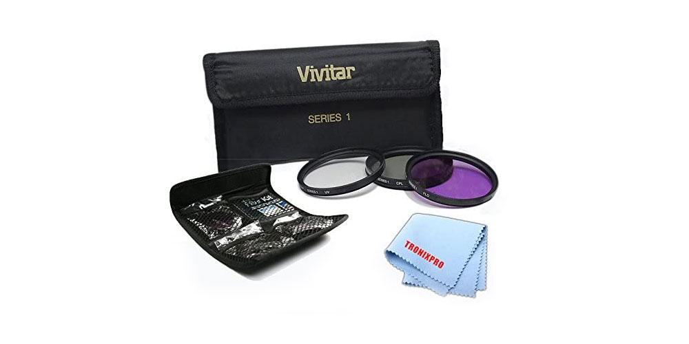 Vivitar 3-Piece 58mm Filter Kit Image