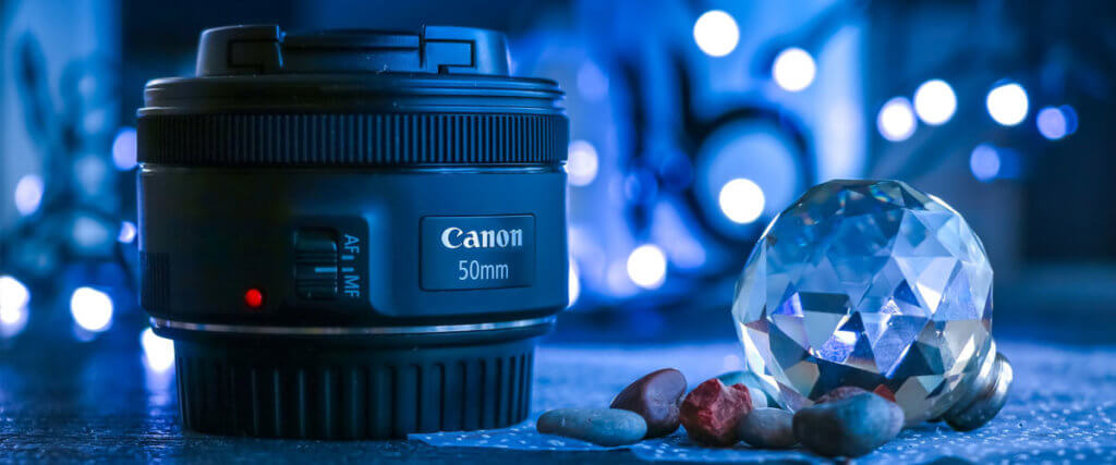 Canon 50mm Lenses Image