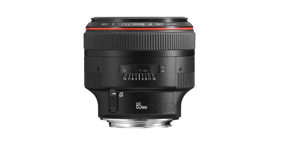 Canon EF 85mm f/1.2L II USM Image