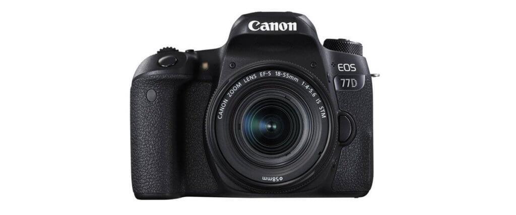Canon EOS 77D Image