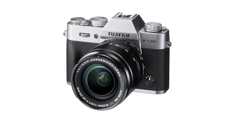 Fujifilm X-T20 With XF18-55mm f/2.8-4 R LM OIS Lens Image