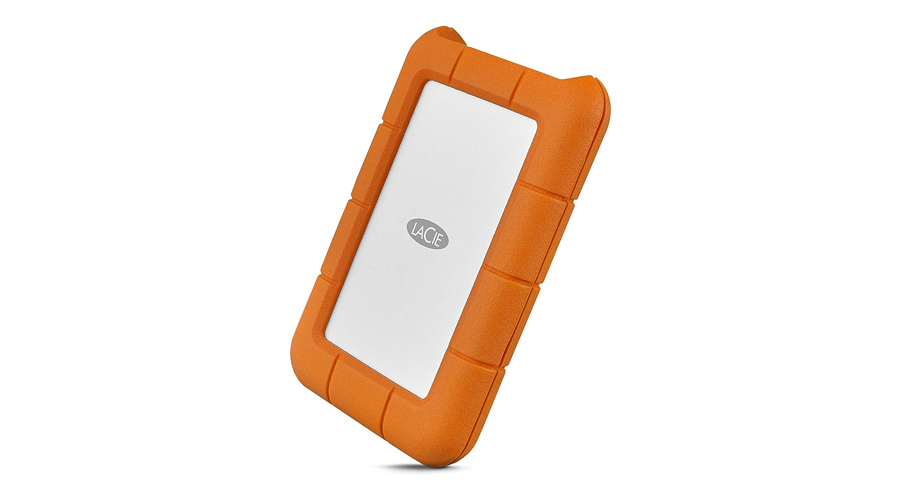 LaCie Rugged USB-C 2TB External Hard Drive Image