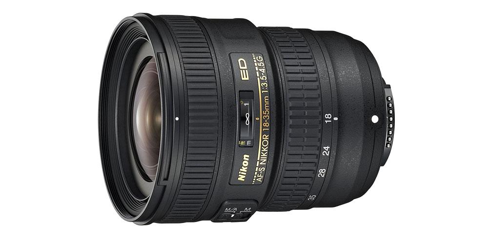 Nikon AF-S FX NIKKOR 18-35mm f/3.5-4.5G ED Image