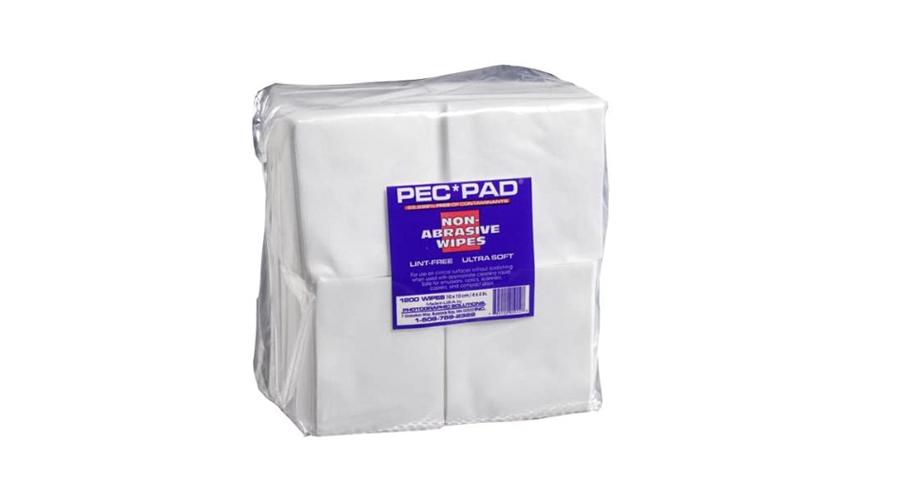 "PEC PAD 4x4"" Non-Abrasive Lint Free Wipes Image"