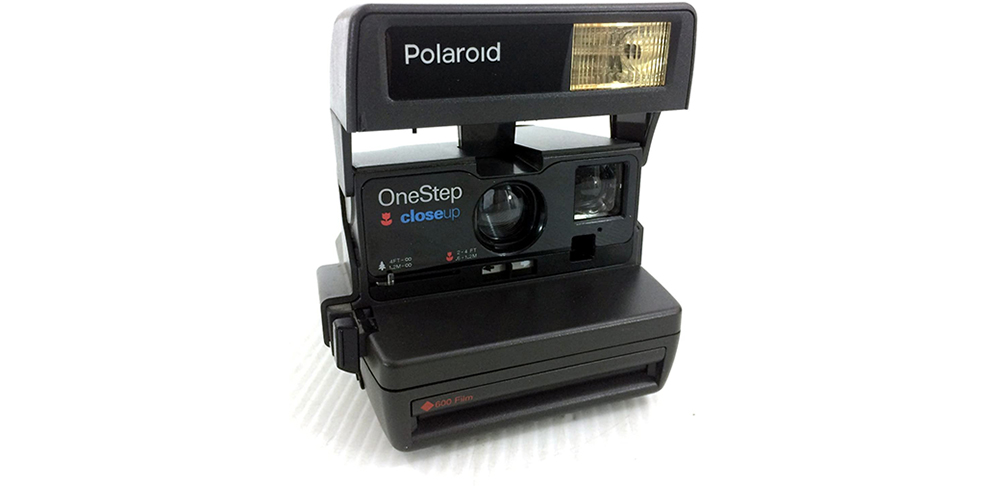 Polaroid 600 OneStep Close Up Image