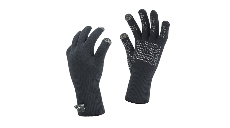 SealSkinz Ultra Grip Waterproof Knitted Gloves Image