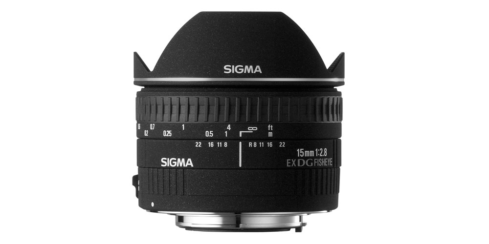 Sigma 15mm f/2.8 EX DG Image