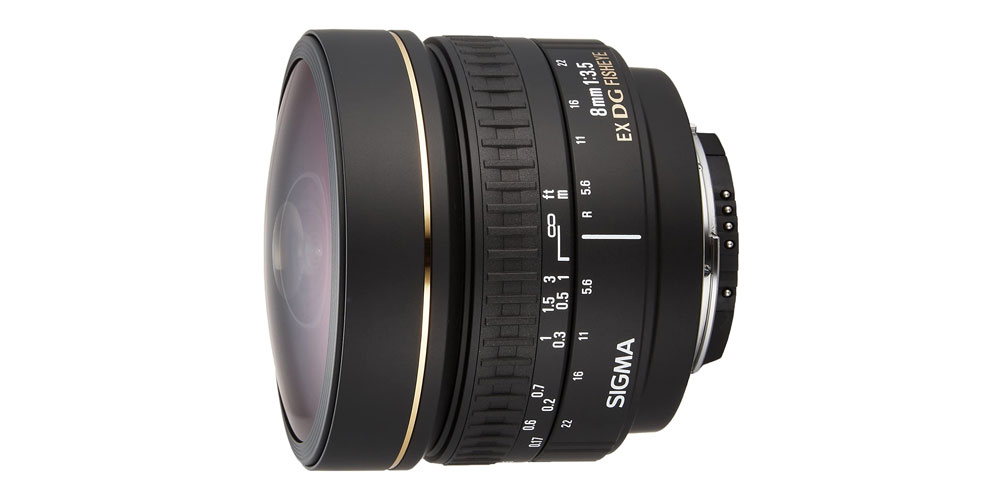 Sigma- 8mm f/3.5 EX DG Image
