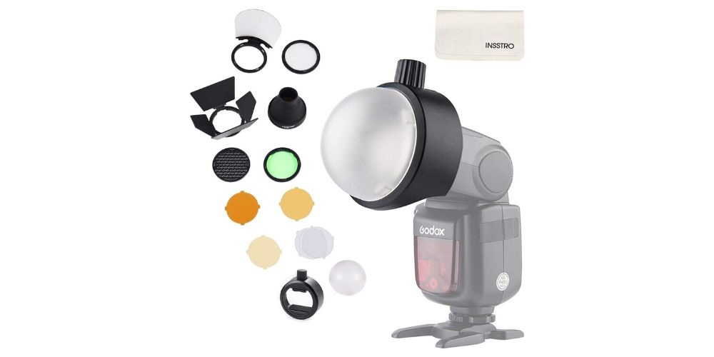 Godox Flash Diffuser Light Softbox Speedlite Flash Accessories Kit Image