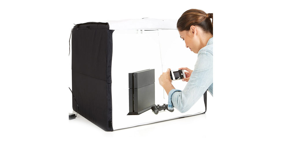 AmazonBasics Portable Foldable Photo Studio Box Image