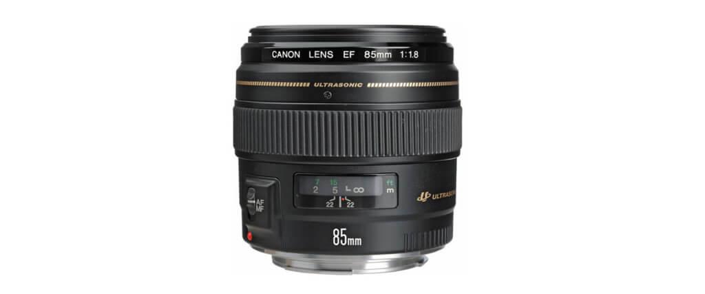 Canon EF 85mm f/1.8 USM Image 3