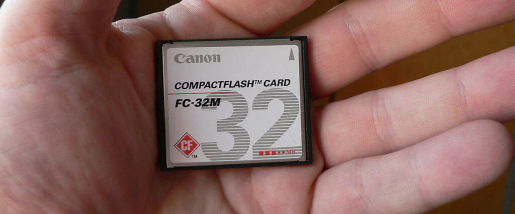CompactFlash Cards Image