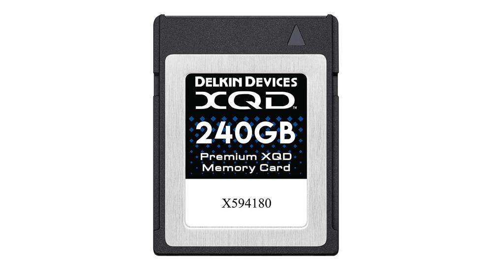 Delkin Premium XQD Memory Card Image