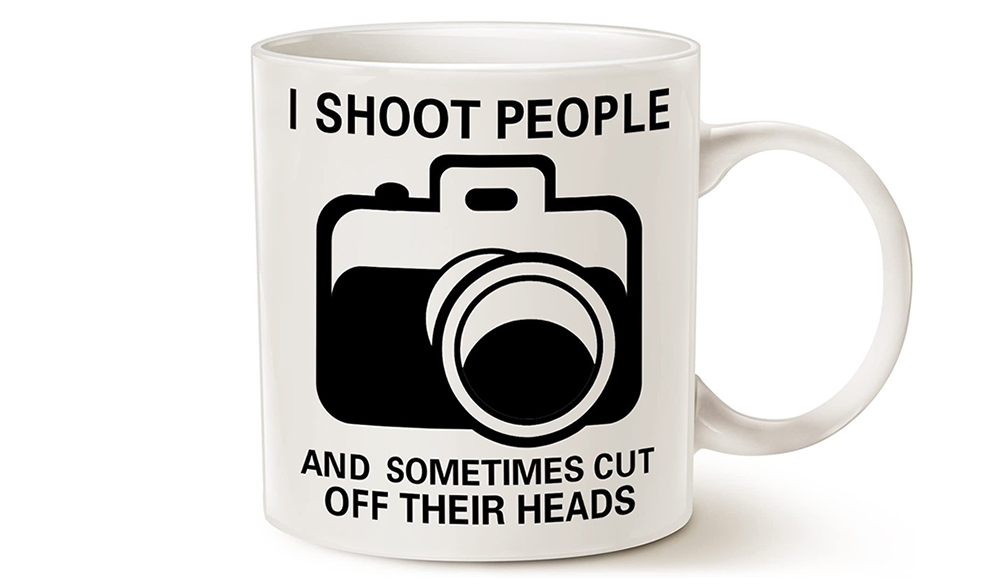 Funny Photography Coffee Mug Image