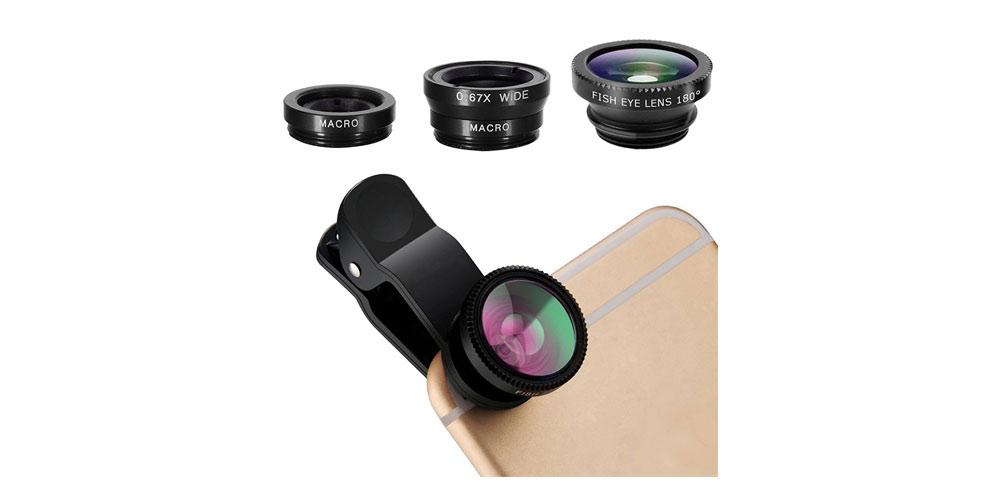 pehael 3-in-1 Clip On 180 Degree Fish Eye Lens Kit Image