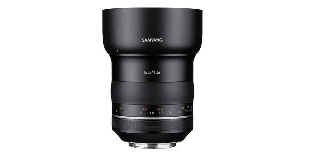 Samyang XP 85mm f/1.2 Image