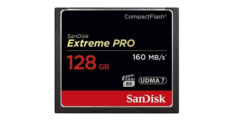 SanDisk Extreme Pro CompactFlash Memory Card Image