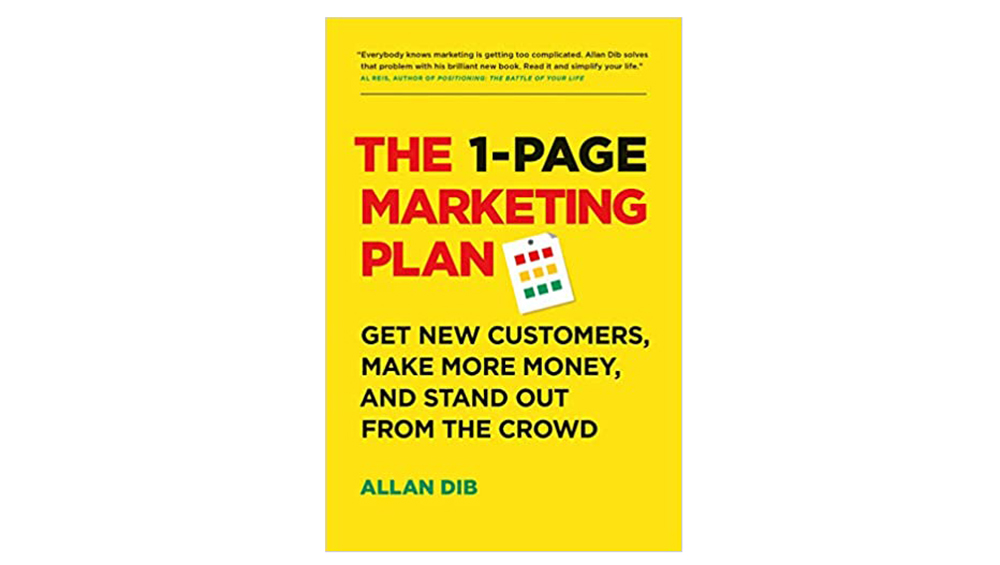 The 1-Page Marketing Plan Image