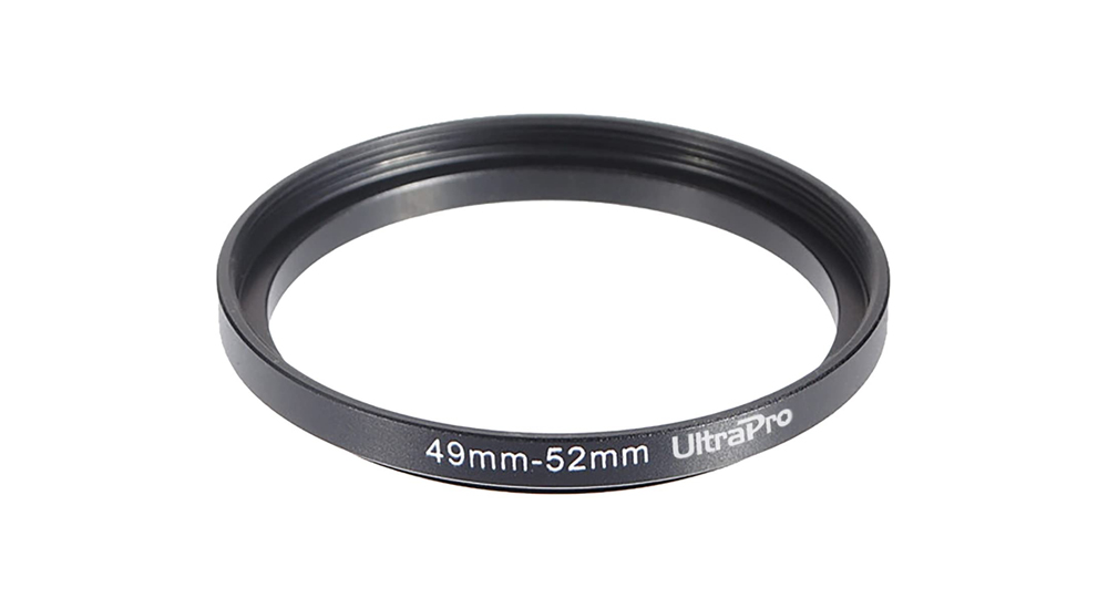 UltraPro Step-Up Adapter Ring 49mm Lens to 52mm Filter Size Image