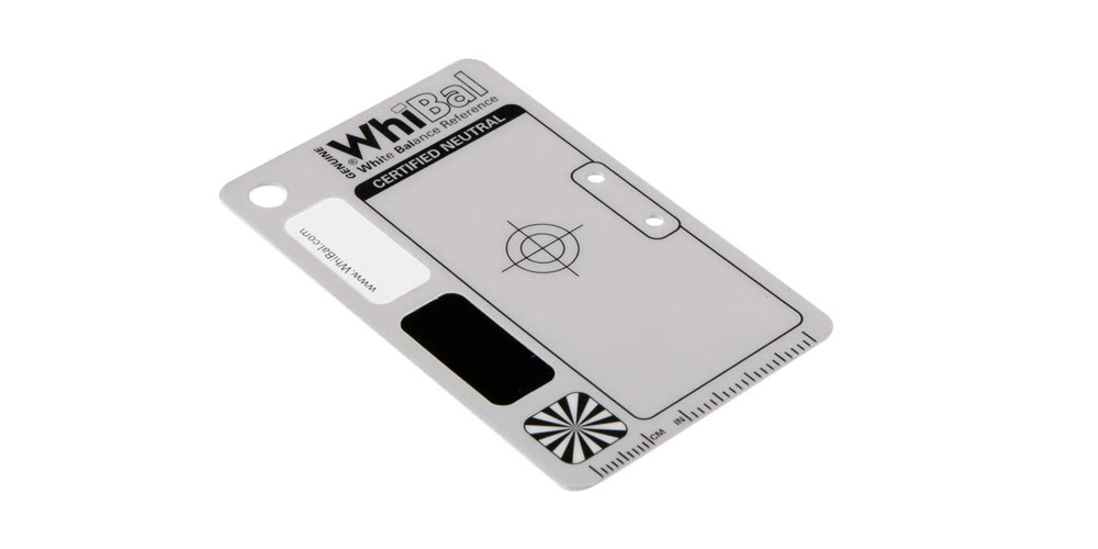 WhiBal G7 White Balance Pocket Card Image
