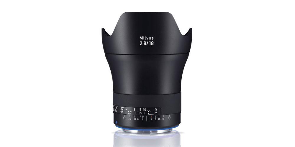 ZEISS Milvus 18mm f/2.8 ZE Image