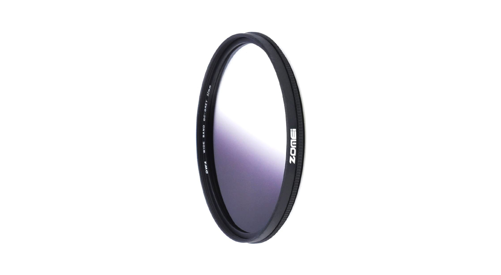 ZOMEI 52mm Graduated Gradual Neutral Density Lens Filter Image