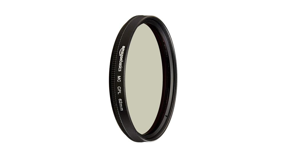 AmazonBasics Circular Polarizer Camera Photography Lens Image