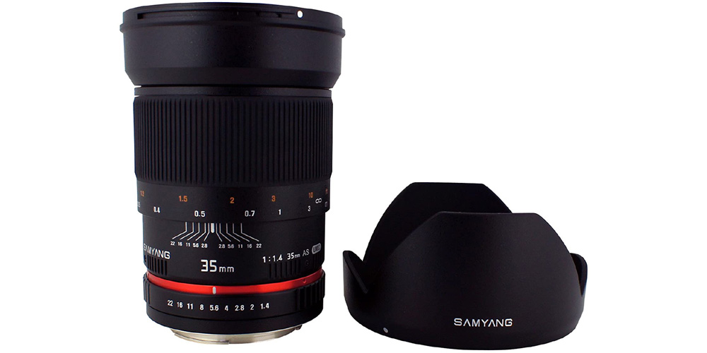 Samyang 35mm f/1.4 AS UMC AE Image
