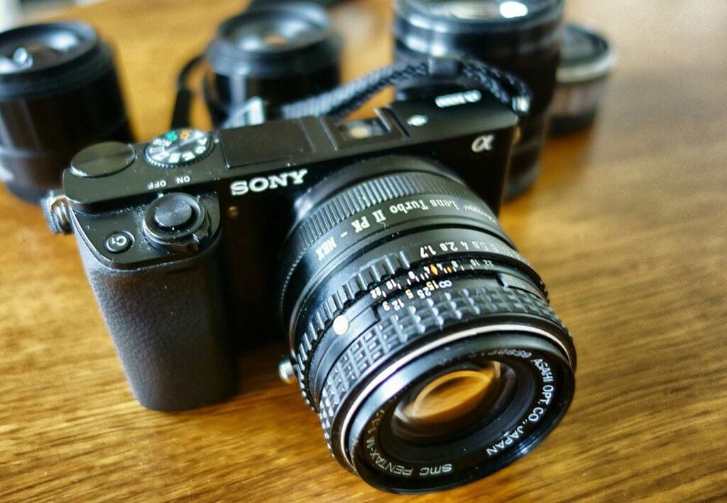 Sony 50mm Lenses Image