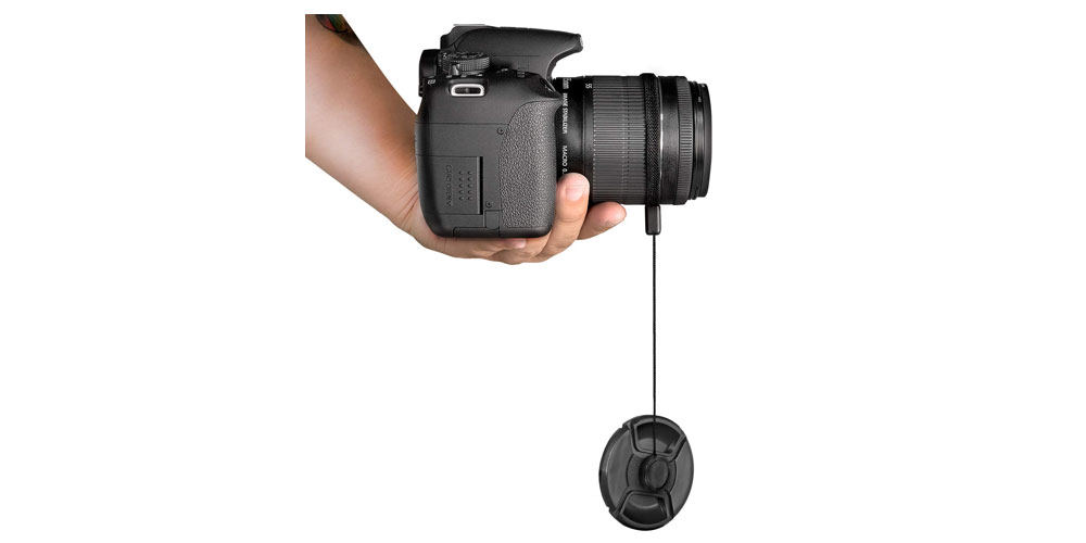 5 Pcs Altura Photo Lens Cap Keeper Holder
