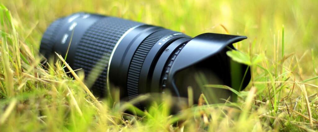 Canon Medium Telephoto Lens Image