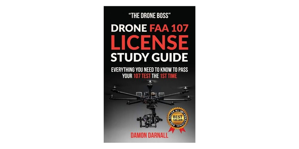 Drone FAA 107 License Study Guide by Damon Darnall Image