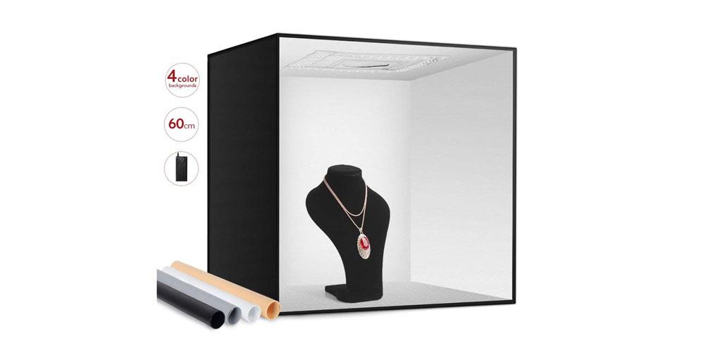 "ESDDI 24"" Photo Studio Light Box Image"