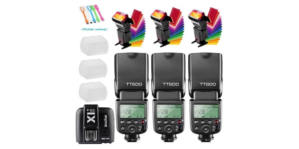Godox Thinklite Camera Flash TT600 Kit Image